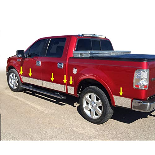 Bushwacker 14065 Trail Armor Rocker Panels for GM Crew Cab Trucks Pair Black