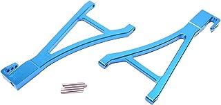 Racers Edge 1921BL Revo Aluminum Front Lower Suspension Arm Set - Blue