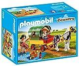 Playmobil - Enfants avec Chariot et Poney - 6948