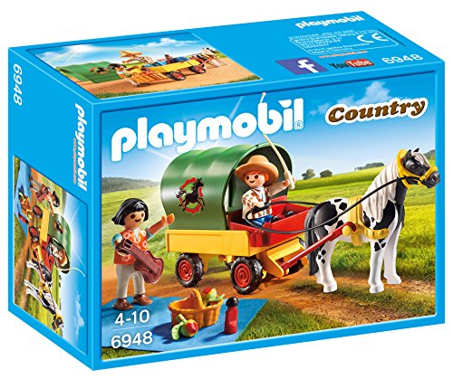 PLAYMOBIL Granja de Ponis Playset  6948