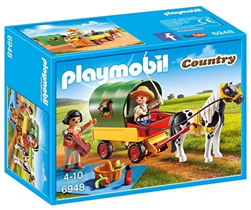 PLAYMOBIL Granja de Ponis Playset (6948)