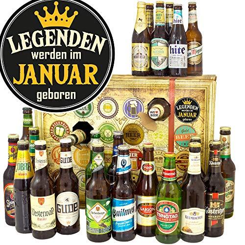 Legenden Januar + Bieradventskalender 2019 + Bier Paket Welt und DE
