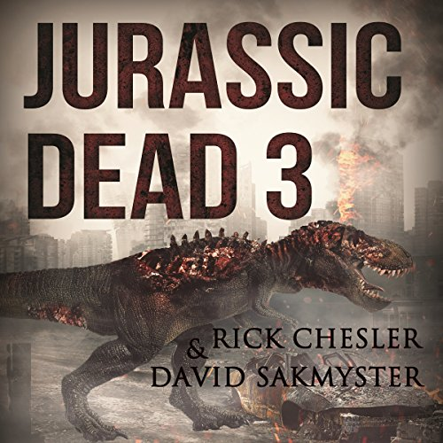 Jurassic Dead 3 audiobook cover art