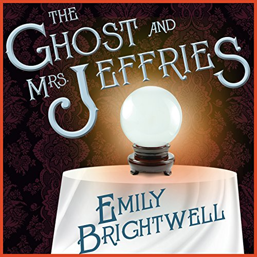 The Ghost and Mrs. Jeffries audiobook cover art