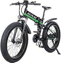 Gunai mountain elettrica bike,bici elettrica 1000w bici montagna ebike 26