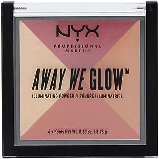NYX Cosmetics Away We Glow Illuminating Powder Sunset Blvd