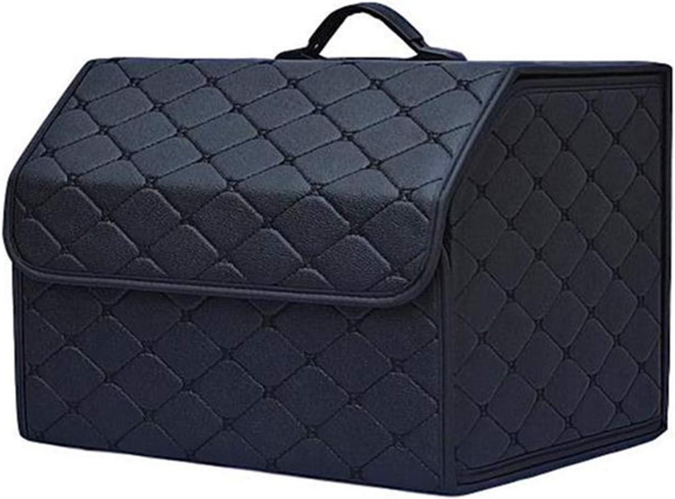 Dheera Car Storage Bag PU Leather Finally popular brand B Organizer Box Folding Trunk discount