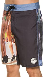 Vans Hank Foto Panel Boardshort (Black/Riviera)