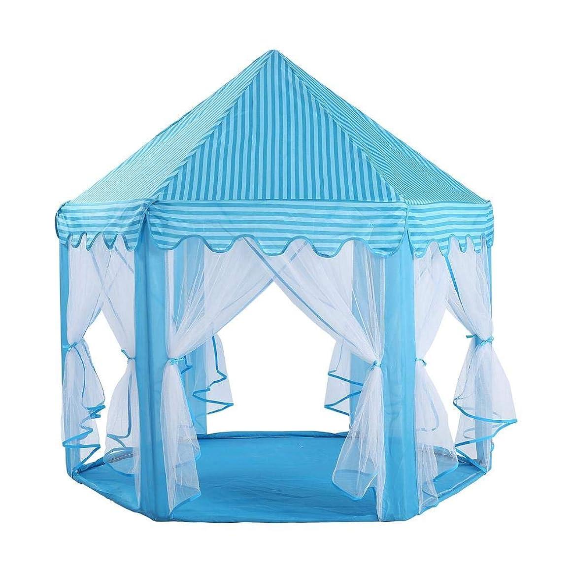 充電ボルトピクニック女の子の王女のテントポータブル折りたたみプレイハウスピンク城小さな家のテント子供ギフト屋外のおもちゃギフト用年齢2-8女の子王女城
