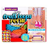 Made By Me Craft Loops Refill By Horizon Group Usa, Includes 3.5 Oz Of Weaving Loom Loops ...