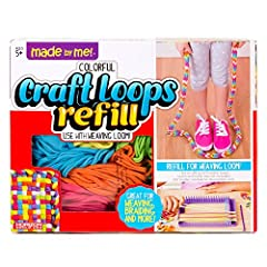 Refill your Made By Me weaving loom: refill your weaving supplies for the weaving loom kit Encourages creativity: weaving looms come in a variety of colors to create unique Creations that fit your personal style Create gifts for friends and family: G...