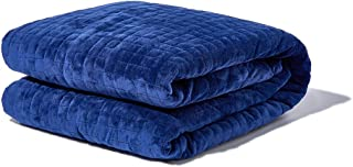 Gravity Blanket: The Weighted Blanket for Sleep, Stress and Anxiety, 48 Inches x 72 Inches, Navy, 20 Pounds