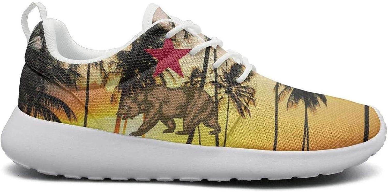 Gjsonmv California Star Bear mesh Lightweight shoes Women Summer Sports Cycling Sneakers shoes