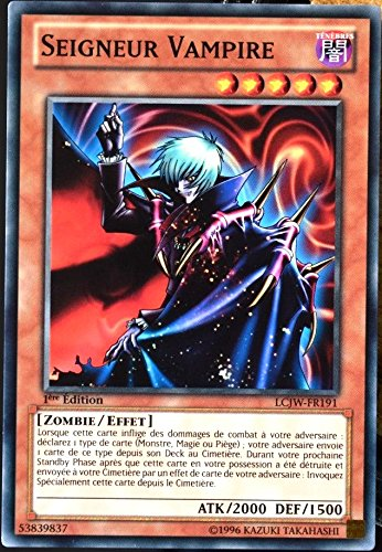 carte YU-GI-OH LCJW-FR191 Seigneur Vampire NEUF FR