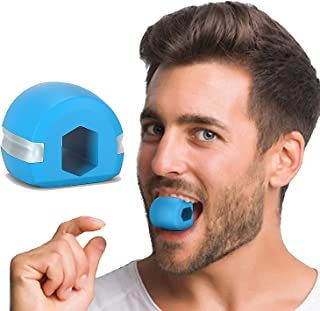 Bhavyam jawline exerciser tool men women,Silicone Jaw Face Neck toner shaper Exerciser chew ball tools equipment for Your ...