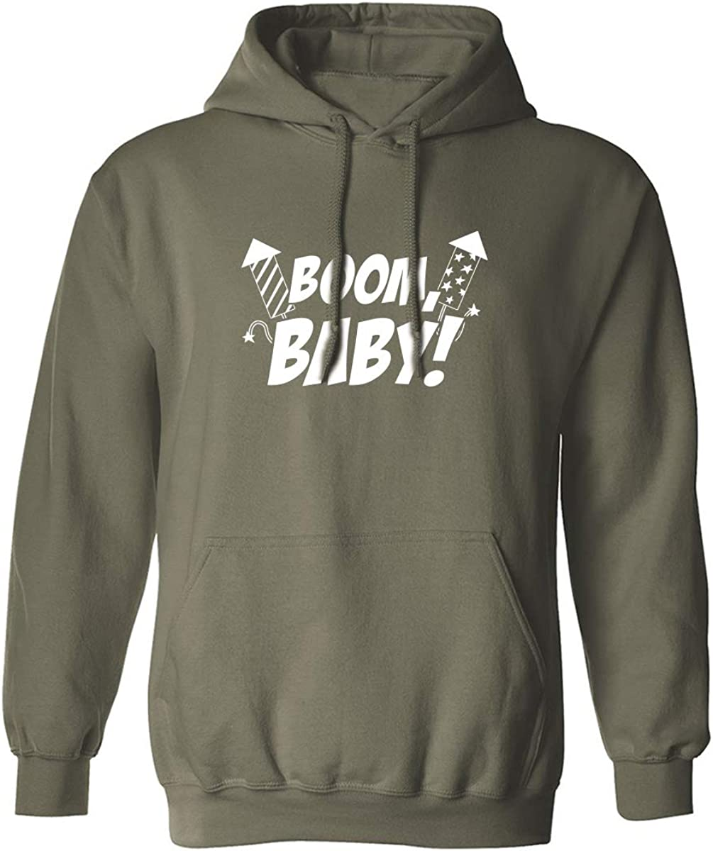 Boom, Baby! Adult Hooded Sweatshirt