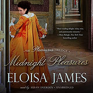 Midnight Pleasures audiobook cover art