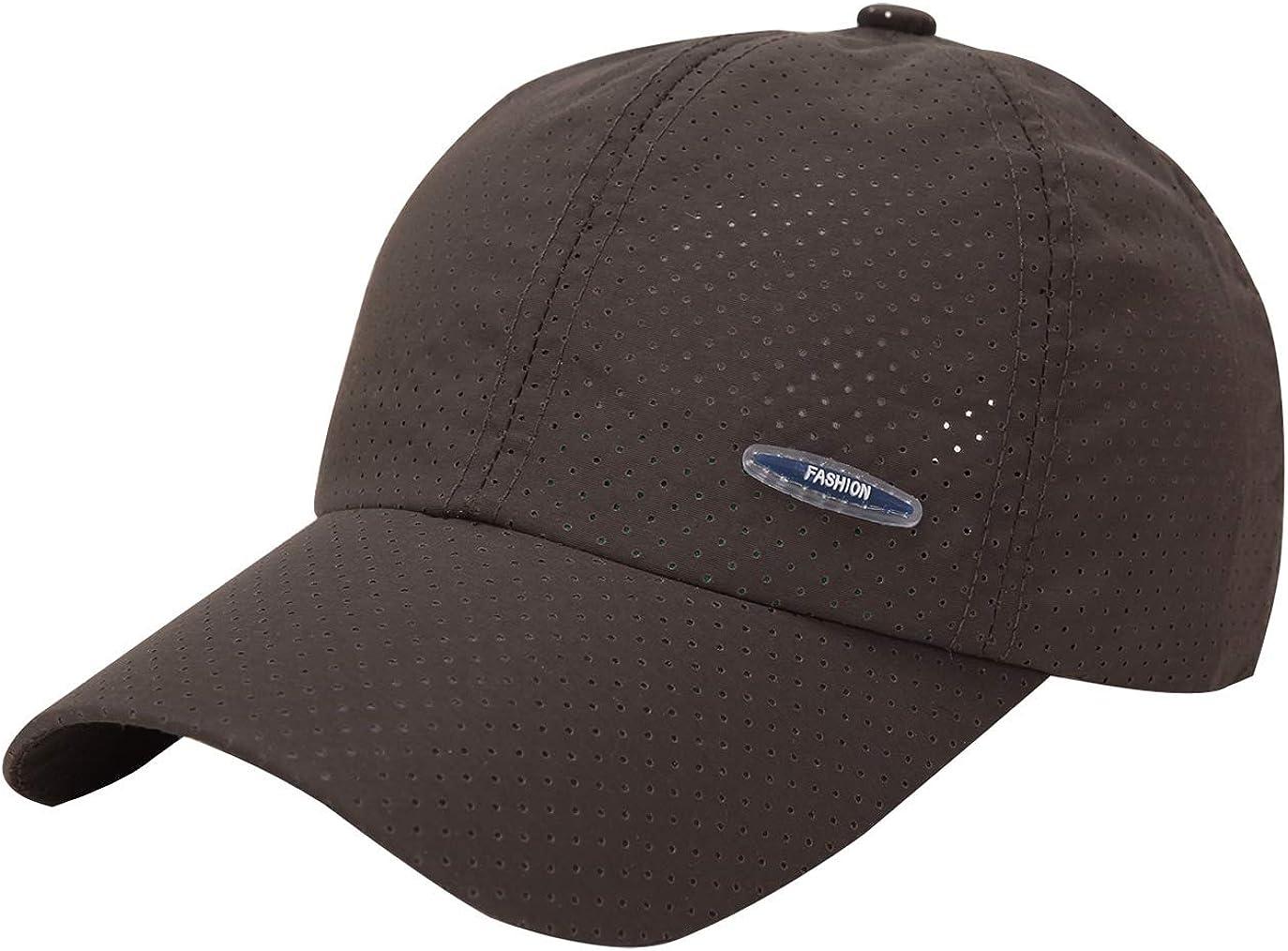 Ohrwurm Trucker Hat Quick Dry Breathable Mesh UPF 50+ Cap Adjustable Baseball Cap