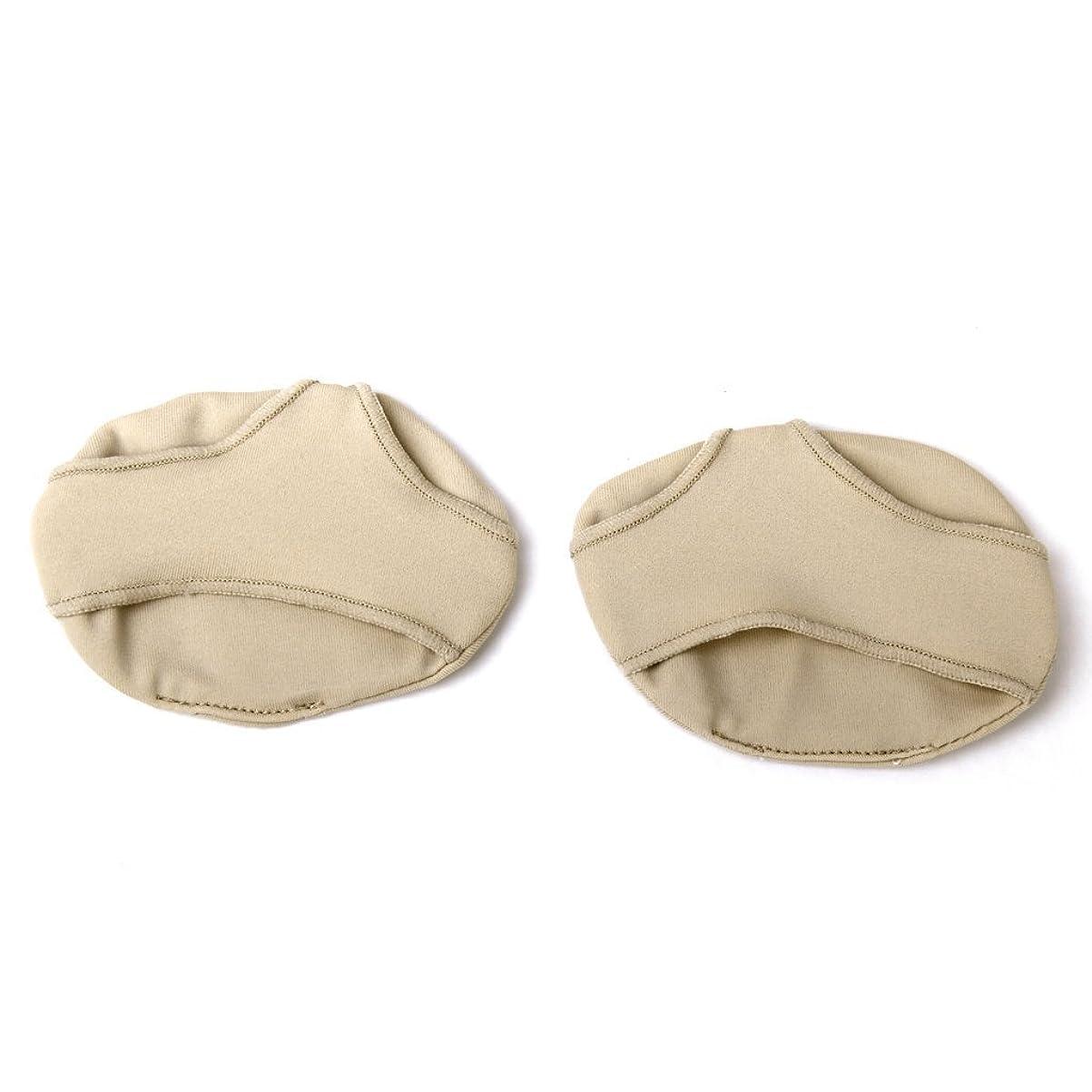 宗教的な無許可モックCUHAWUDBA ペアの低中足パッド クッションブランケット 前足の痛みを和らげるためのストラップ付きインソール Y形