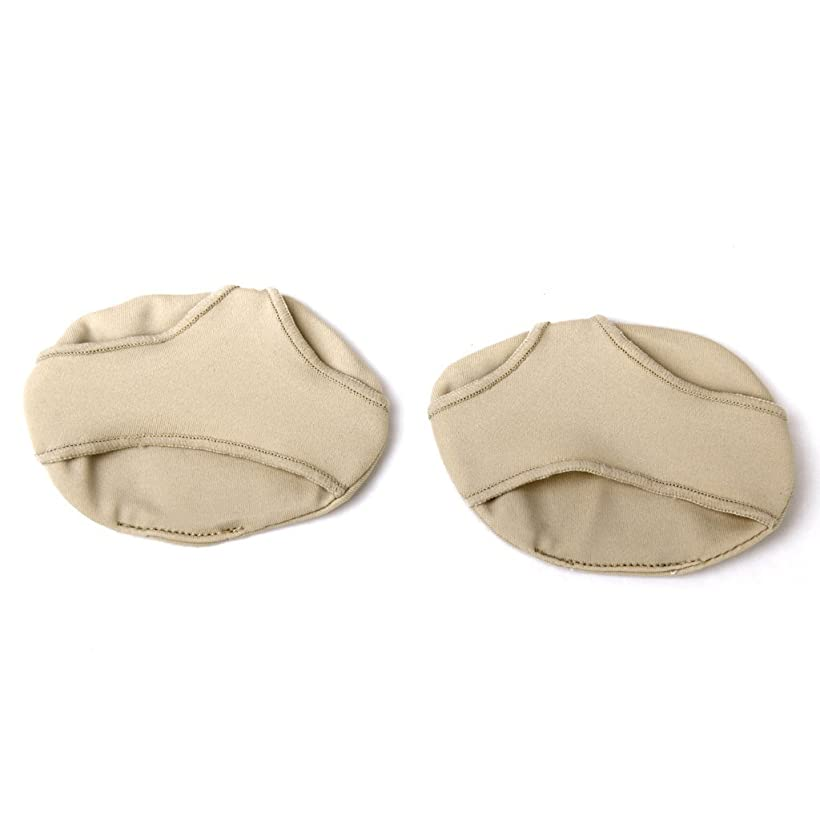 検索誘惑する覆すSODIAL(R) ペアの低中足パッド クッションブランケット 前足の痛みを和らげるためのストラップ付きインソール Y形