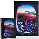 Puzzle 1000 Pieces – Beauty of Flight Jigsaw Puzzle, Large 28' x 20', Unique Puzzles for Adults Who Miss Flying on Airplane, Difficult Puzzle, Ideal Family Puzzle for Hours of Fun