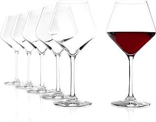 Stölzle Lausitz Rödvinsglas Burgunder Revolution 545 ml I rödvinsglas Set om 6 I ädelkristallglas I vinglas diskmaskinssäk...