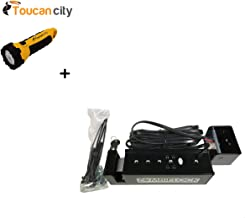 Toucan City LED Flashlight and Ghost Controls ZombieLock Automatic Gate Lock for Automatic Gate Openers AXZL