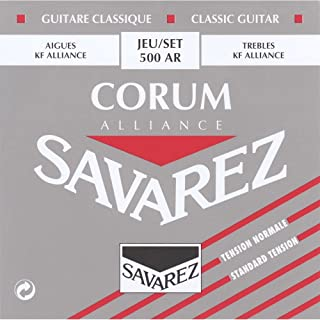 CUERDAS GUITARRA CLASICA - Savarez (500/AR) Corum Alliance Roja (Juego Completo