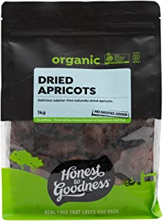 Honest to Goodness Organic Dried Apricots, 1 kg