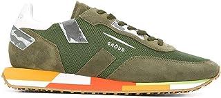 Luxury Fashion | Ghoud Men E10ERMLMMM26 Green Suede Sneakers | Autumn-winter 20