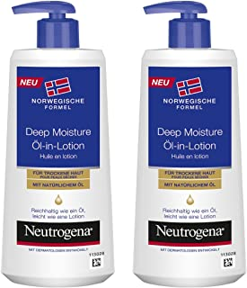 Neutrogena 露得清 Norwegische Formel 深层保湿身体乳液 2 x 250ml