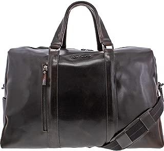 Robert Graham Aegean Burnished Leather Convertible Weekender Duffle Bag