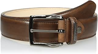 Bruno Magli Men's Burnished Leather Belt