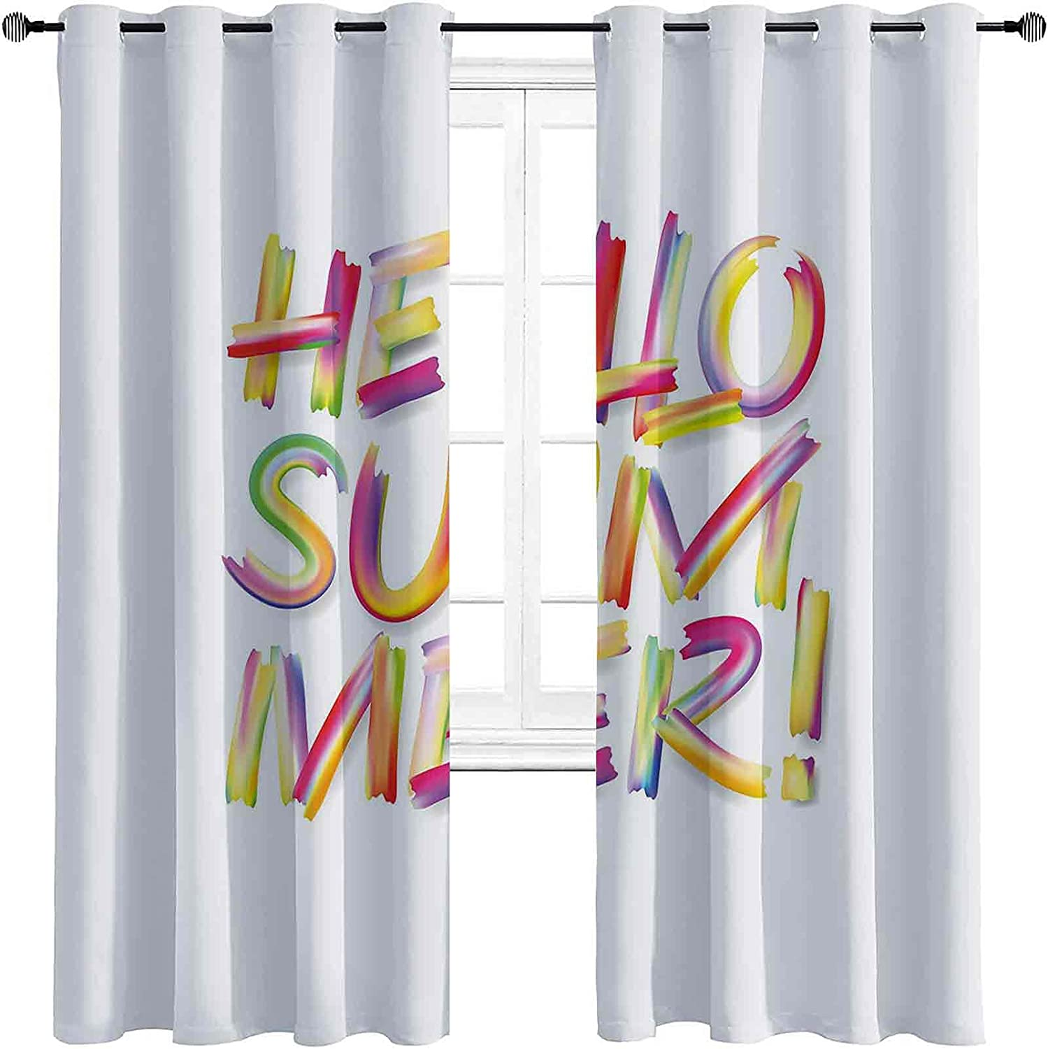 Hello Summer Branded goods The Superior Living Room Powerful has Typ Blackout Curtains