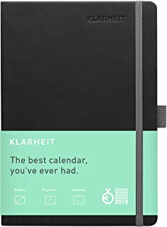 KLARHEIT | The Action Planner for Happiness & Productivity | Measurable Results Guaranteed | Life-Coach In A Book | 1 Full...