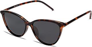 SOJOS Vintage Cat Eye Sunglasses For Women UV Protection Classic Retro Designer Style Shades SJ2193