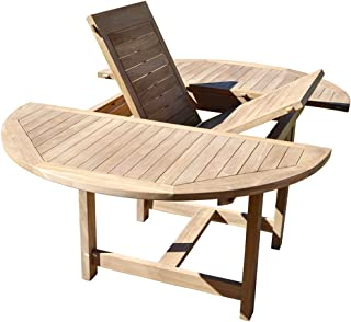 Amazon.fr : Table De Jardin Extensible - PEGANE