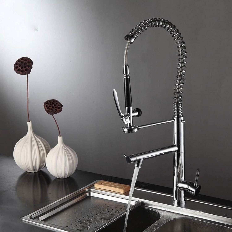 Lddpl Wasserhahn Frühling Stil Küchenarmatur Gebürstetem Nickel Wasserhahn 360 Grad Küchenarmatur Messing Einhebel Deck Montiert Wasserhhne