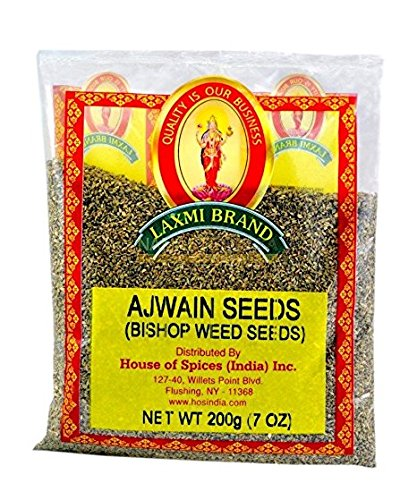 Laxmi All-Natural Ajwan Seed (Oregano Seeds) - 7oz