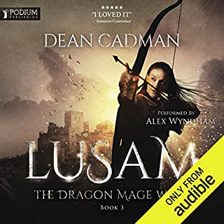 Page de couverture de Lusam: The Dragon Mage Wars, Book 3