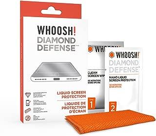Best whoosh diamond defense liquid screen protection Reviews