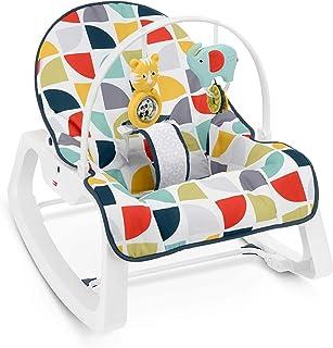 MATTEL GDP60 Fisher-Price Infant-to-Toddler Rocker, 2ct