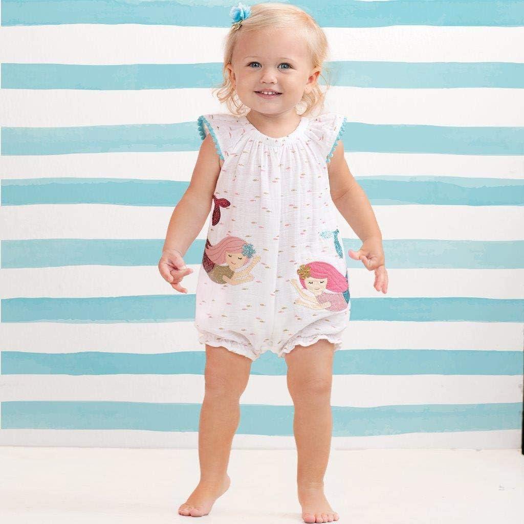 Infant Mud Pie Baby Girls Mermaid Bubble
