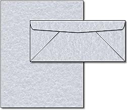 Azul Pergamino Papel y sobres–40sets