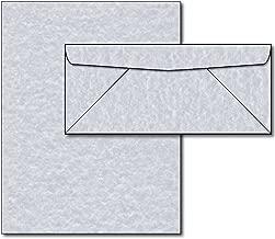 Blue Parchment Paper & Envelopes - 40 Sets
