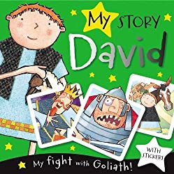 My Story: David Paperback Book with Stickers
