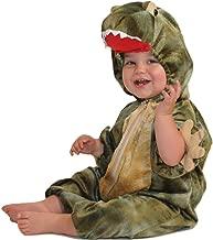 Patymo Baby Jurassic Rex Infant Costume - Dinosaur Costume Green