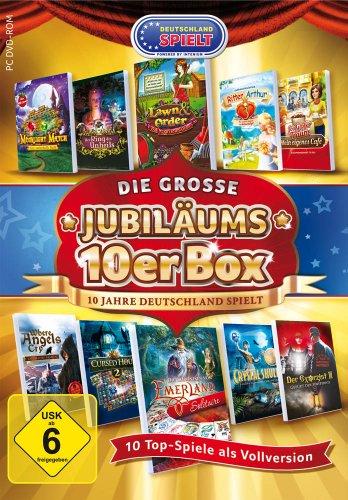 Die grosse Jubiläums 10er Box: 10 Jahre Deutschland Spielt