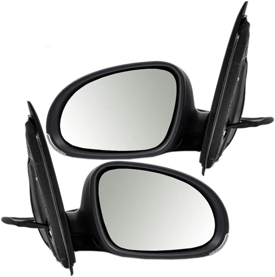 Brock Replacement ストア Driver and Passenger H 爆売り Power View Side Mirrors