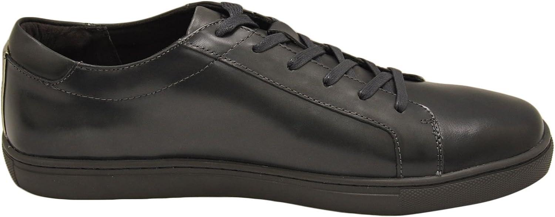 Kenneth Cole Kam Men's Lace Up Fashion Sneaker Dark Grey